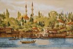 "Tapestry ""the Tower at the mosque"" (55х35)"