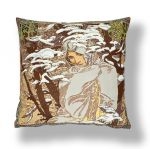 "Pillow Case ""By A. Mucha. Winter"" (45x45)"