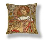 "Pillow Case ""By A. Mucha. Autumn"" (45x45)"